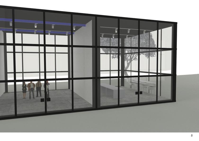 Temporary extension of the Düsseldorf Art Academy